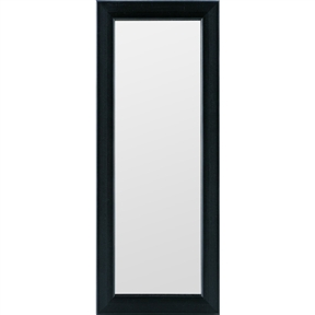 Black Wall Mirror - 4-inch x 12-inch